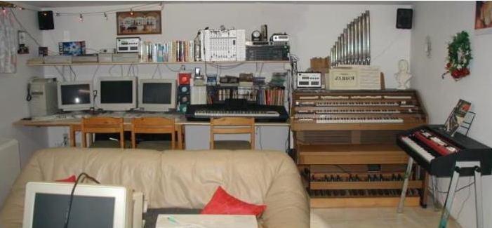 Foto Musikzimmer